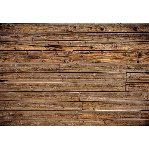 Fototapet imitație  - scănduri maro din lemn 1973V8