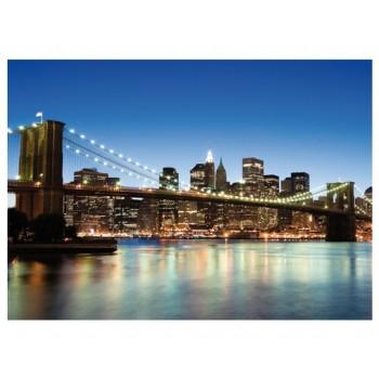 Fototapet urban Brooklyn Bridge