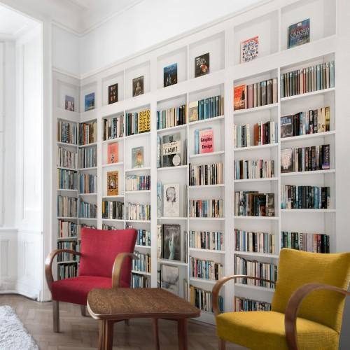 Biblioteca privata - fototapet vlies