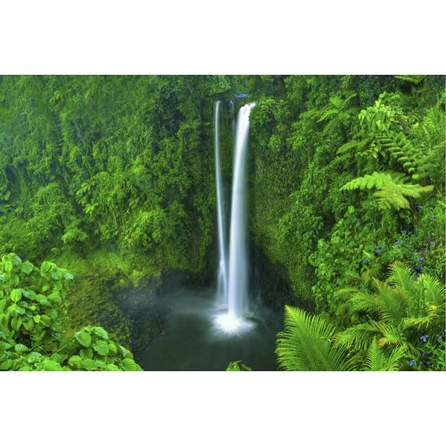 Cascada paradisiaca - fototapet vlies