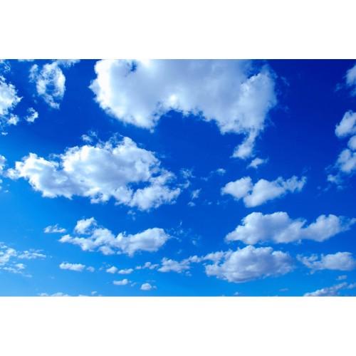Cerul plin de nori - fototapet vlies