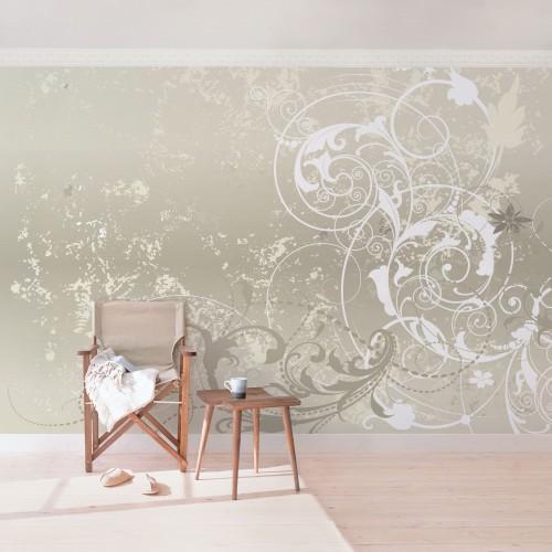 Design ornamental Permutt - fototapet vlies