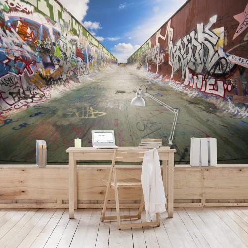 Graffiti - fototapet vlies