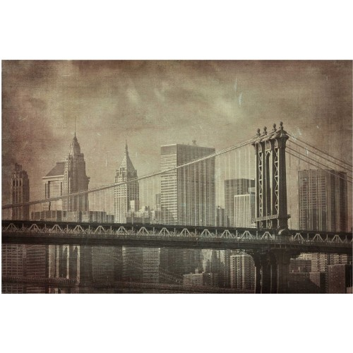 New York in stil vintage - fototapet vlies