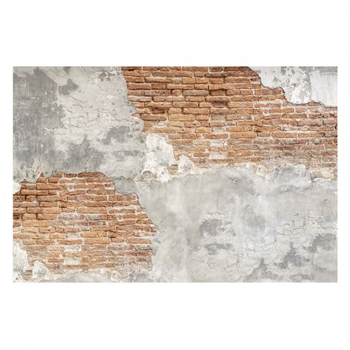 Zid de caramizi Shabby - fototapet vlies