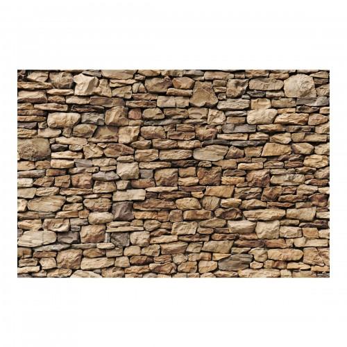 Zid de piatra in stil American - fototapet vlies
