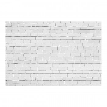 Zidul de caramizi gri - fototapet vlies