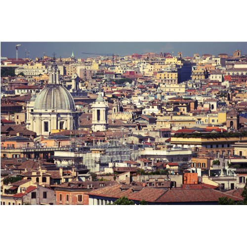 Acoperisurile din Roma - fototapet vlies