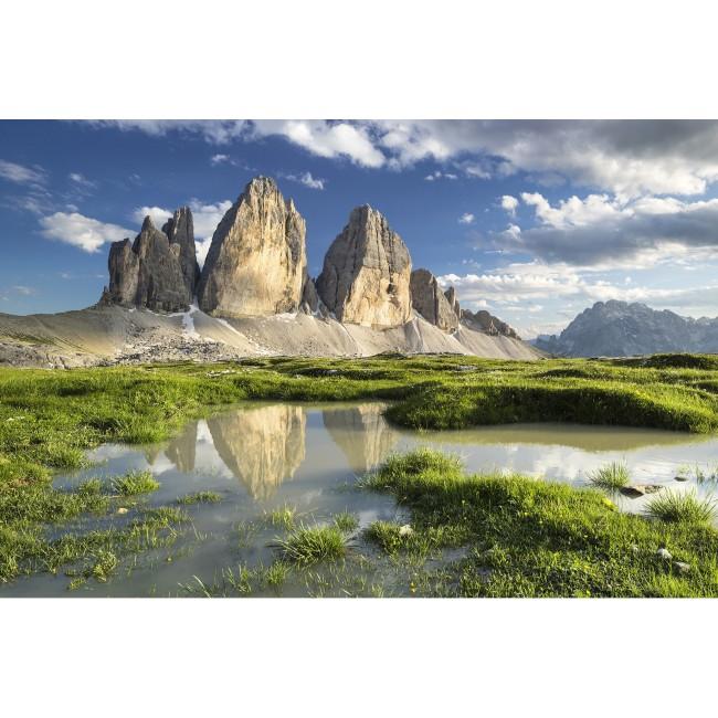 Alpii Dolomiti - fototapet vlies