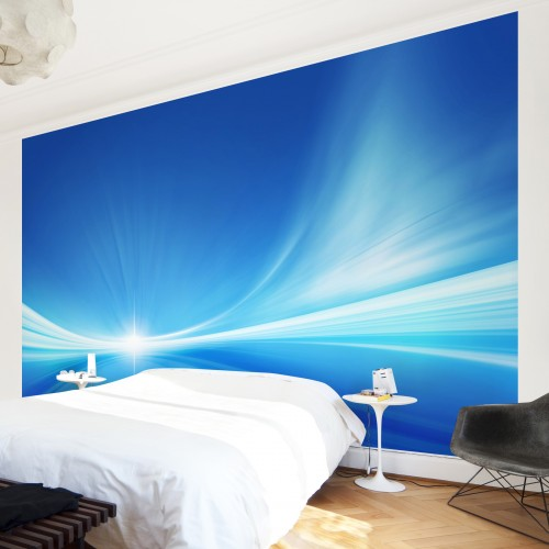 Fototapet background abstract albastru
