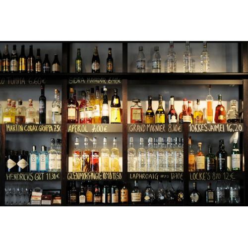 Fototapet barul iubitorilor de băutură