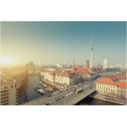 Dimineata in Berlin - fototapet vlies