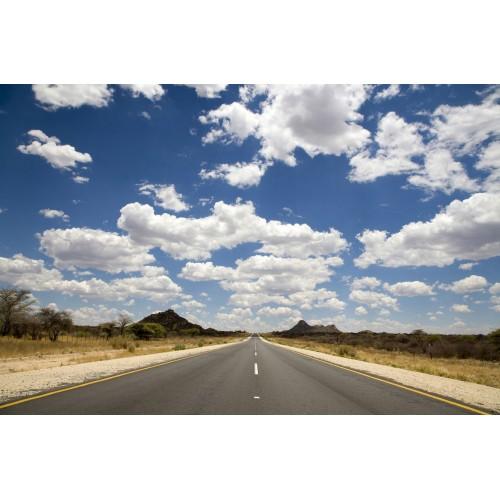 Drumul Route 66 - fototapet vlies