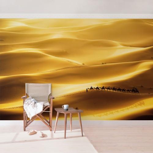 Dune aurii de nisip - fototapet vlies