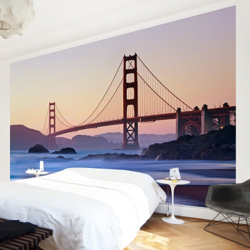 Farmecul din San Francisco - fototapet vlies