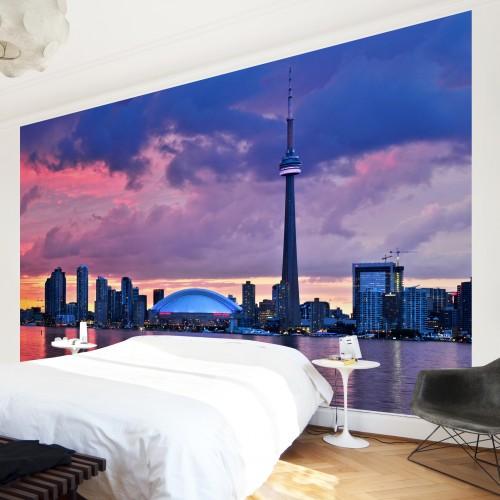 Fascinantul Toronto - fototapet vlies