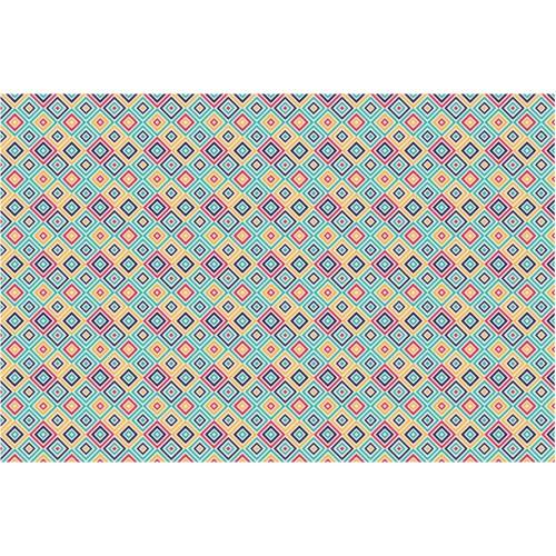 Geometria patratului - fototapet vlies