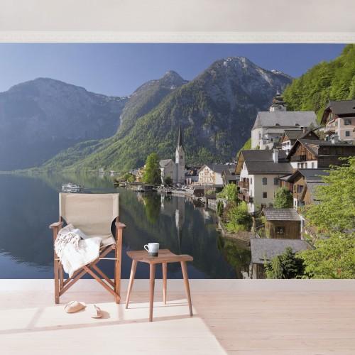 Lacul Hallstatt - fototapet vlies