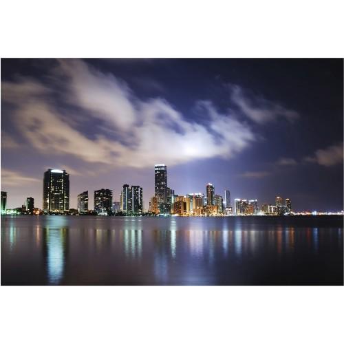 Noaptea in Miami - fototapet vlies