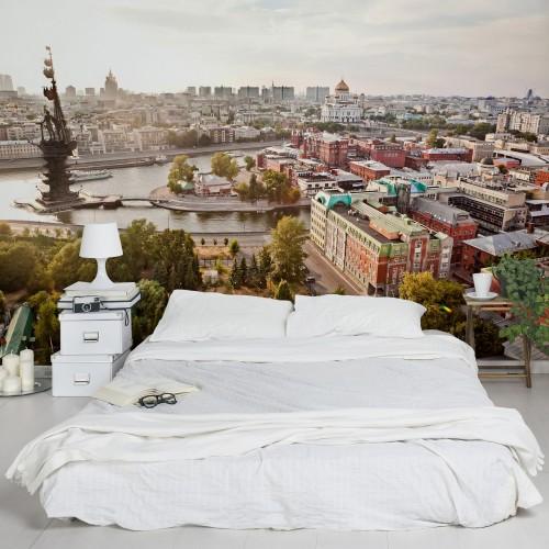 Orasul Moscova - fototapet vlies