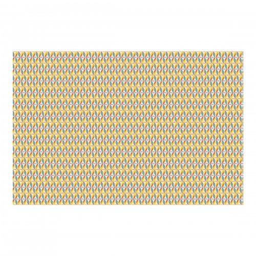 Ornament ADN retro - fototapet vlies