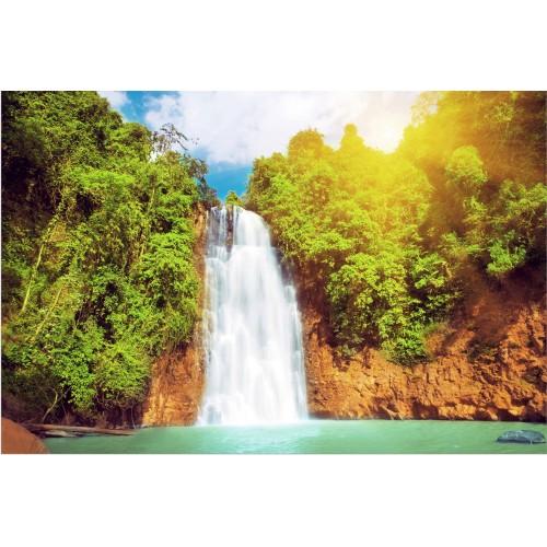 Fototapet paradisul cascadei din laguna