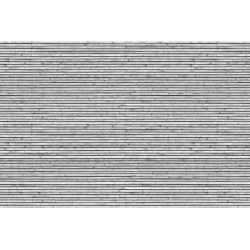 Placi de lemn in tonrui alb si negru - fototapet vlies