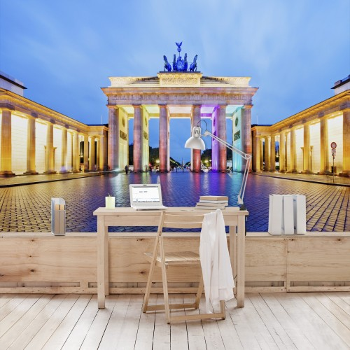 Poarta Brandenburg - fototapet vlies
