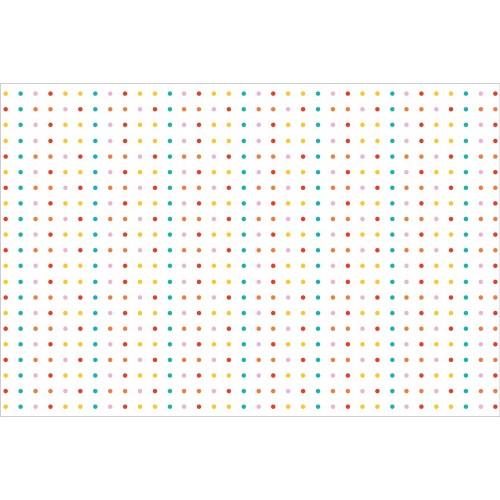 Puncte mici, colorate - fototapet copii