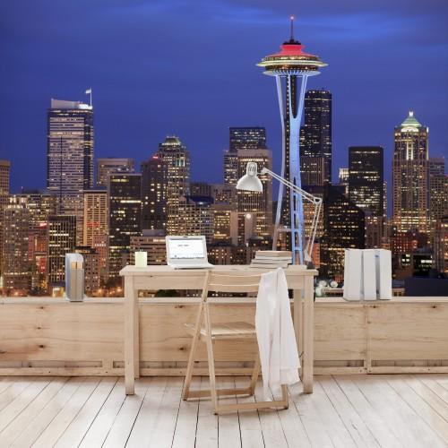 Seattle - fototapet vlies