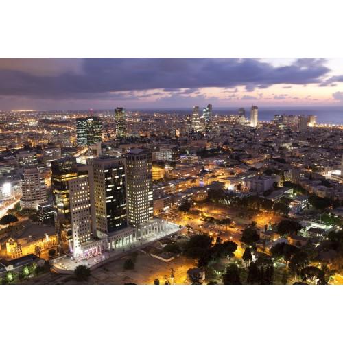 Tel Aviv - fototapet vlies
