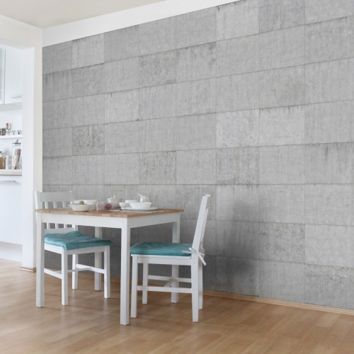 Zidul de beton - fototapet vlies