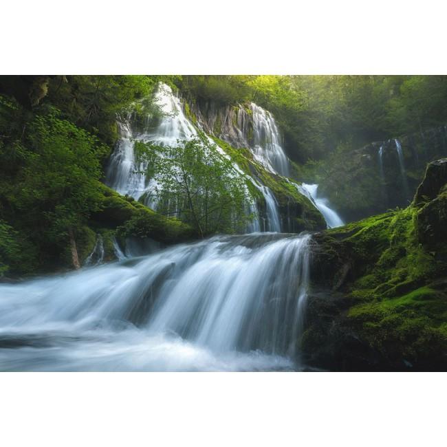 Cascade din Panther Creek - fototapet vlies