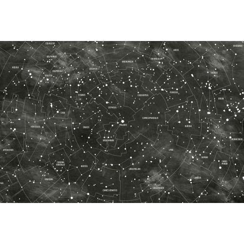 Hartă stelară - fototapet vlies