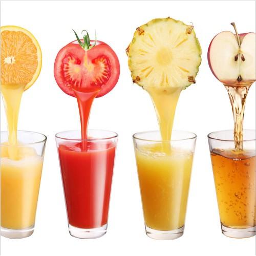 Fototapet bucătărie - Sucuri sănătoase de fructe și legume