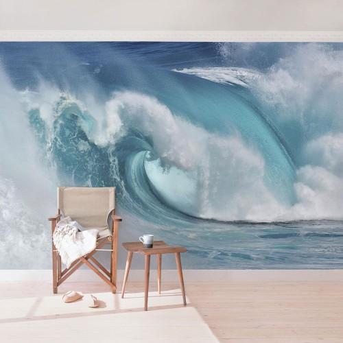 Fototapet cu valuri uriaşe